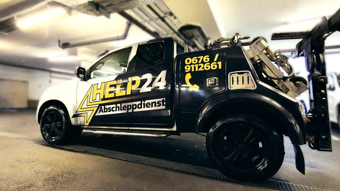 HELP24 Abschleppwagen Isuzu